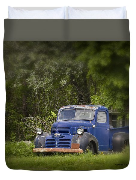 Old Faithful Duvet Cover by Denis Lemay