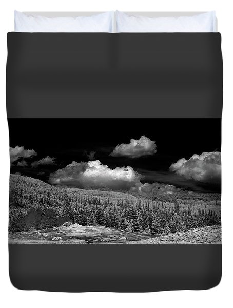 Old Faithful Ir  Duvet Cover