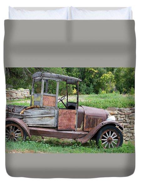 Old Faithful Duvet Cover