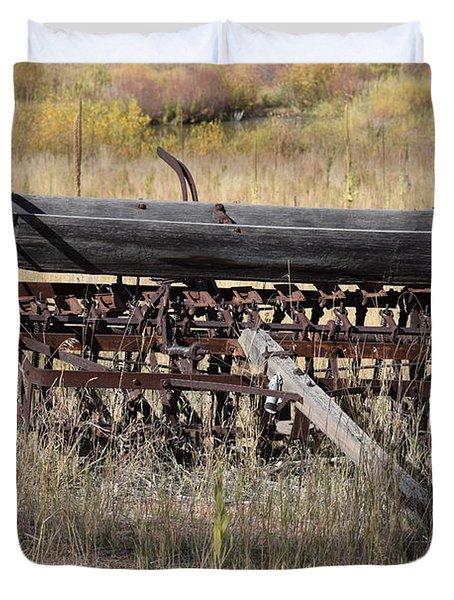 Farm Implament Westcliffe Co Duvet Cover