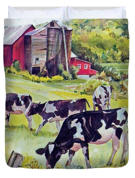 Old Farm Duvet Cover