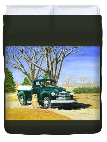 Old Farmhands Duvet Cover