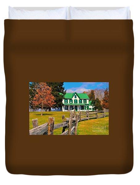 Old Farmhouse Duvet Cover