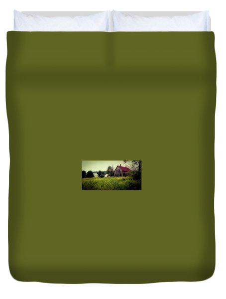 Old Farmhouse - Woodstock, Vermont Duvet Cover