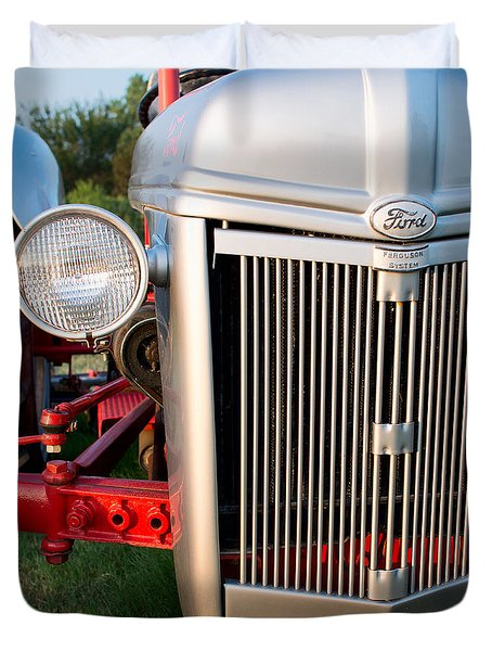 Ford Tractor 9n Tractor Front Duvet Cover