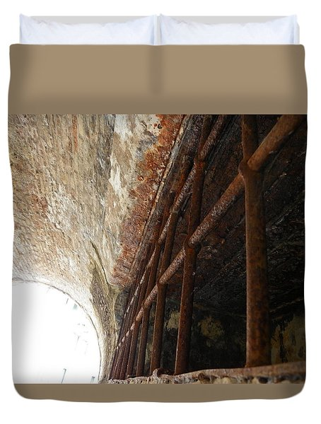 Old Gate Duvet Cover
