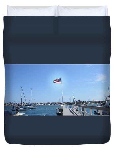 Old Glory 2 Duvet Cover