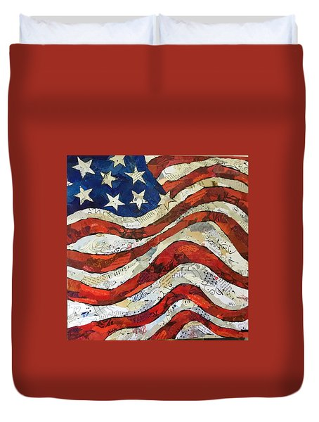 Old Glory II Duvet Cover