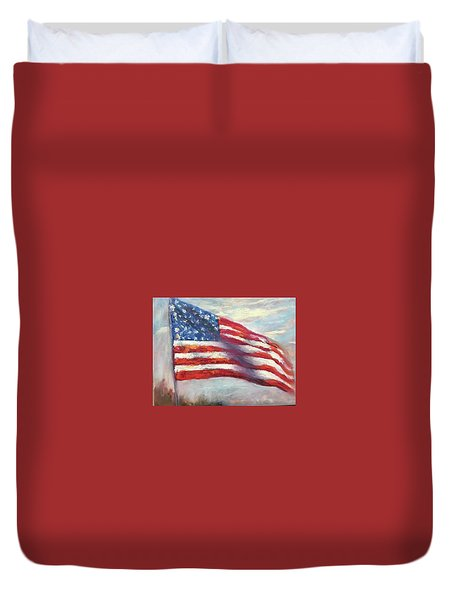 Old Glory Vi Duvet Cover