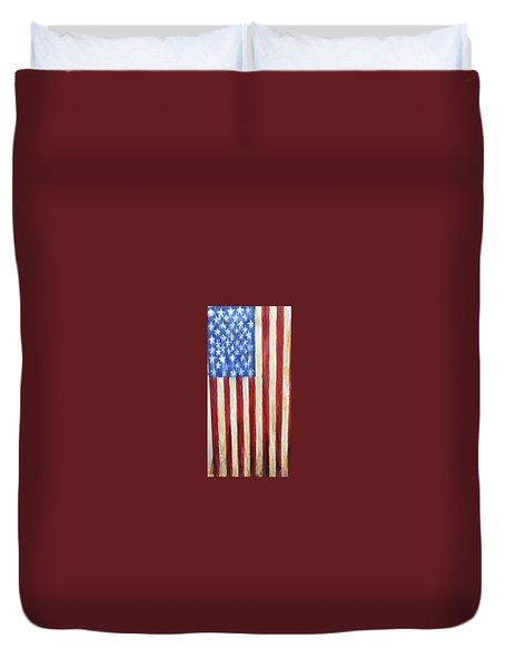 Old Glory Vii Duvet Cover