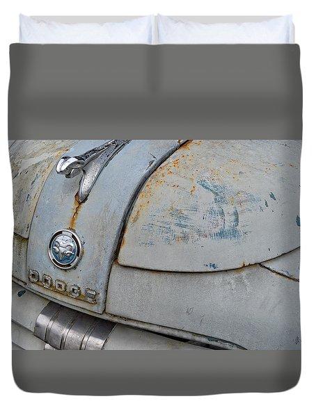 Old Gray Ram Duvet Cover