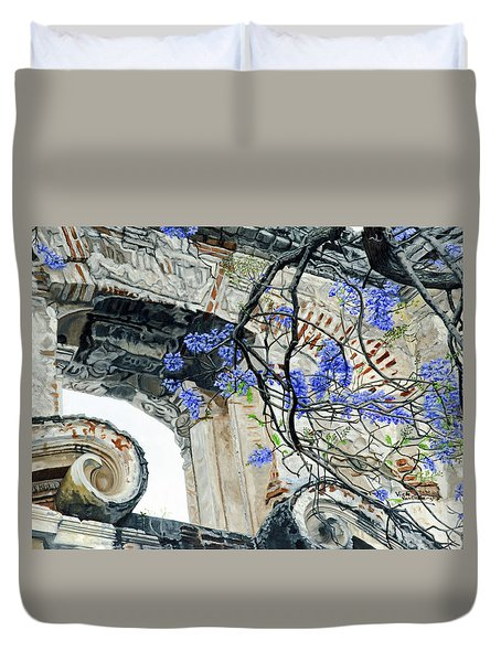 Old Growth Wisteria Duvet Cover