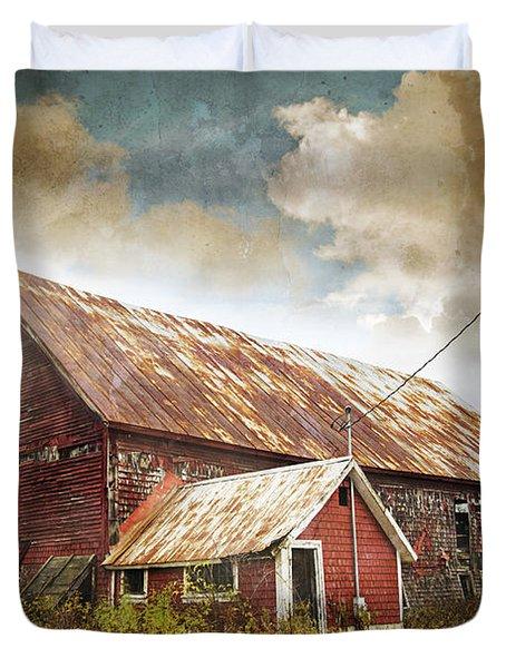 Old Hay Barn Duvet Cover