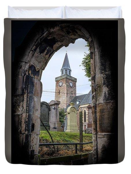 Old High St. Stephen's Church Duvet Cover by Amy Fearn
