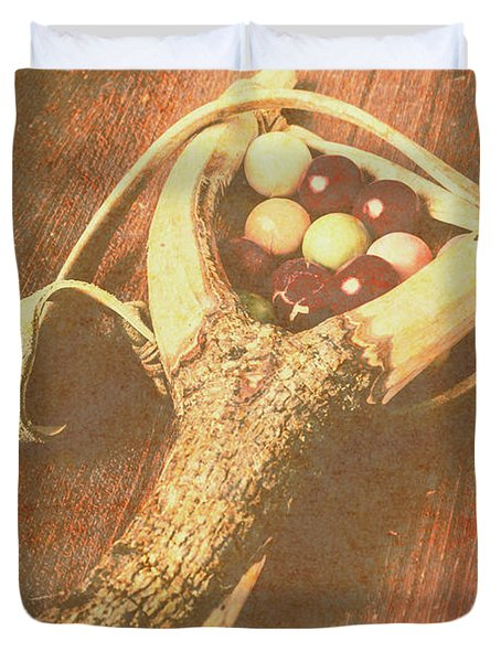 Old Hit Of Confectionery Duvet Cover