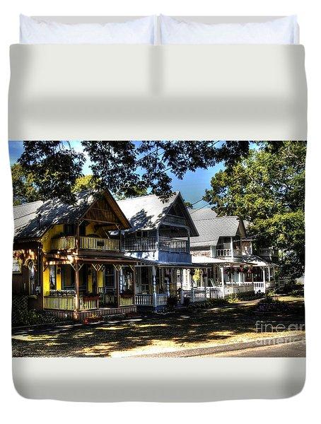 Old Homes Martha's Vineyard Duvet Cover