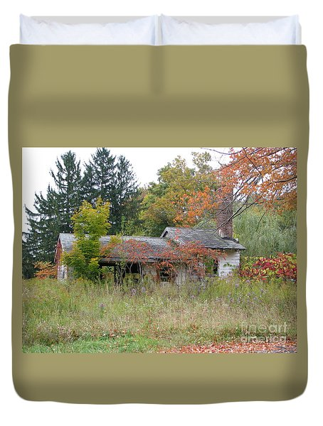 Old Homestead 3  Duvet Cover