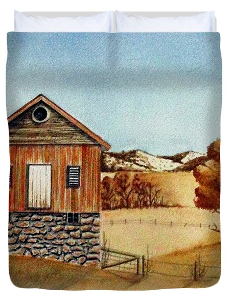 Old Homestead Duvet Cover by Jimmy Smith