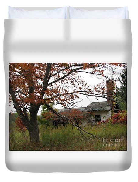 Old Homestead Duvet Cover