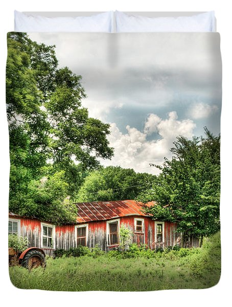 Old Homestead Duvet Cover by Tamyra Ayles