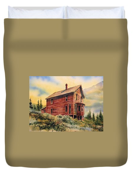 Old House Animas Forks Colorado Duvet Cover by Kevin Heaney