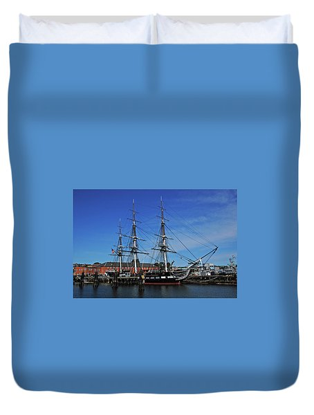 Old Ironsides Duvet Cover