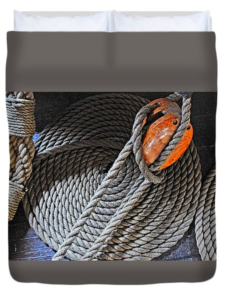 Old Ironsides Rope Duvet Cover