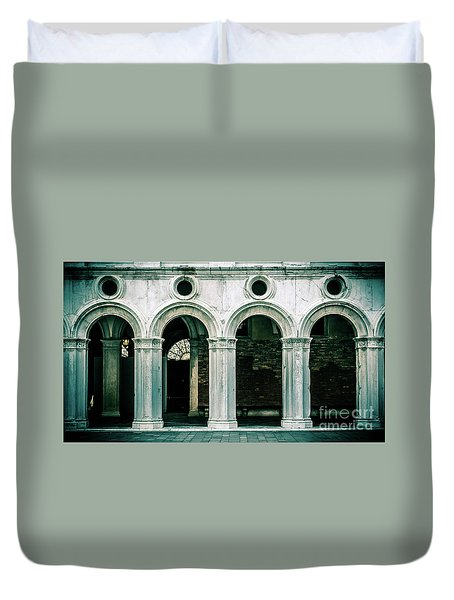 Old Italy Duvet Cover