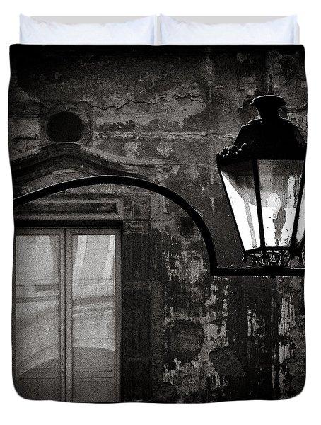 Old Lamp Duvet Cover
