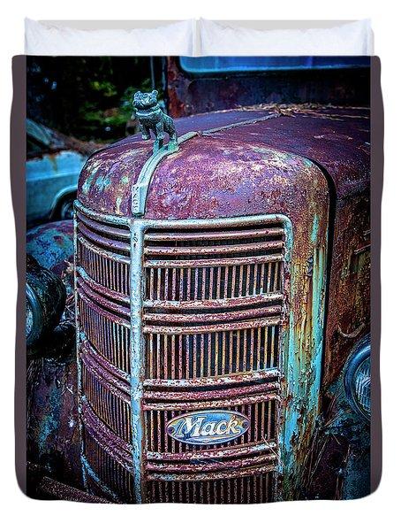 Old Mack Grille Duvet Cover