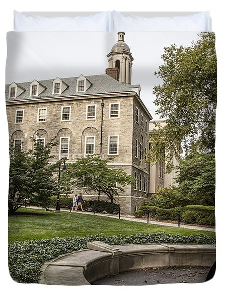 Old Main Penn State Bell  Duvet Cover