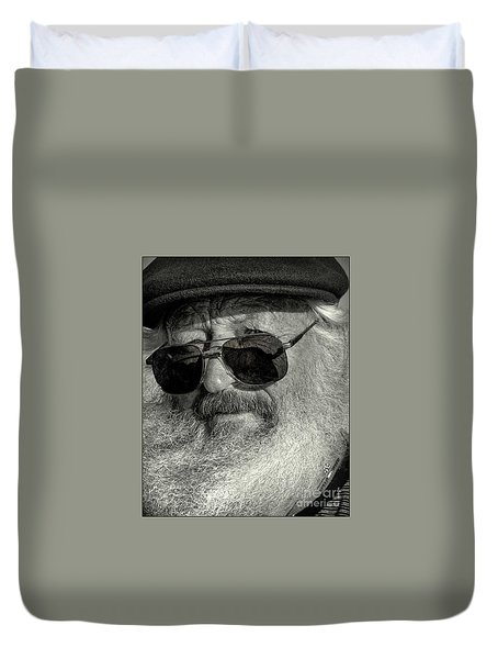 Old Man And The Sea Duvet Cover