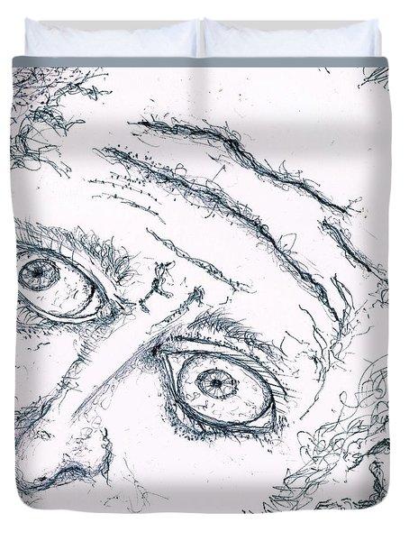 Old Man  Duvet Cover