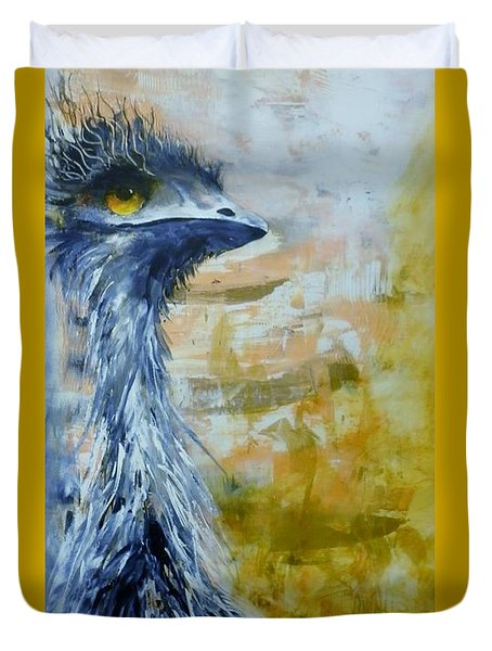 Old Man Emu Duvet Cover