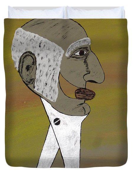 Old Man Nutcracker Duvet Cover