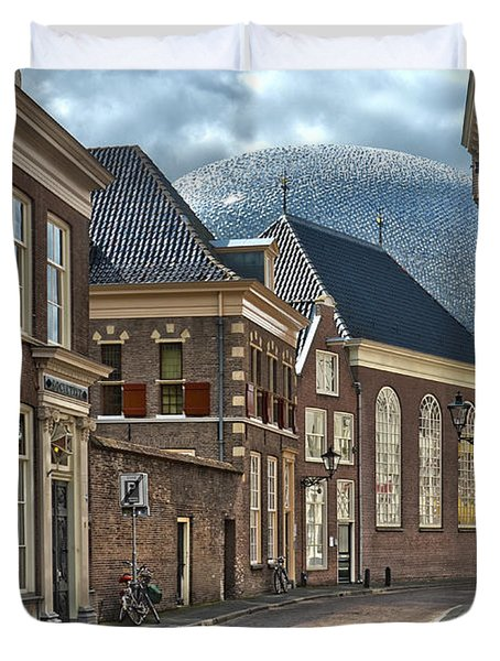 Old Meets New In Zwolle Duvet Cover