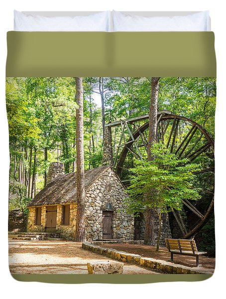 Old Mill At Berry College Duvet Cover