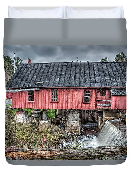 Old Mill Boards Duvet Cover