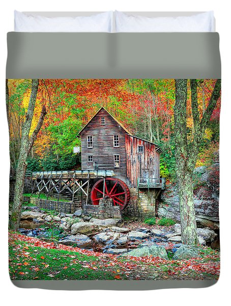 Old Mill Duvet Cover by Emmanuel Panagiotakis