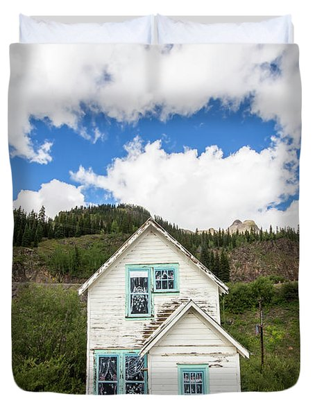 Old Mining Home In Silverton Duvet Cover