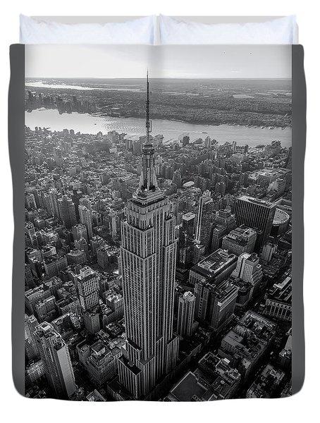 Old New New York  Duvet Cover