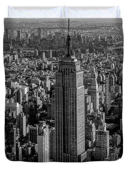 Old New York  Duvet Cover