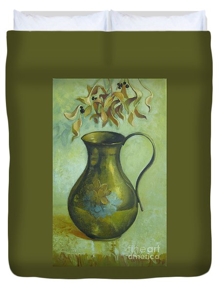 Old Pitcher Duvet Cover