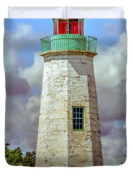 Old Point Comfort Lighthouse Duvet Cover
