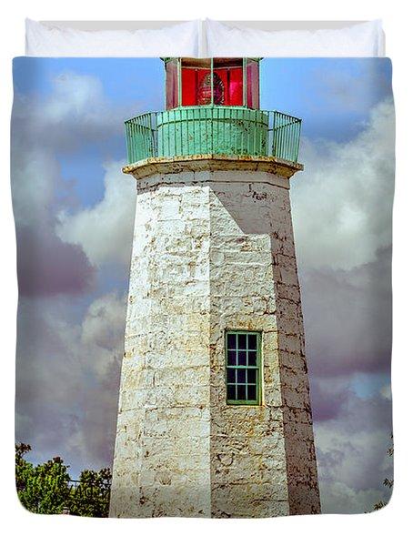 Old Point Comfort Lighthouse Duvet Cover
