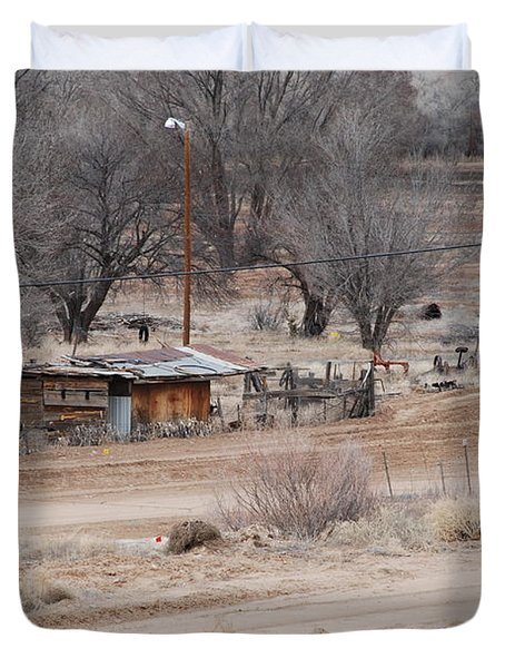 Old Ranch House Duvet Cover by Rob Hans