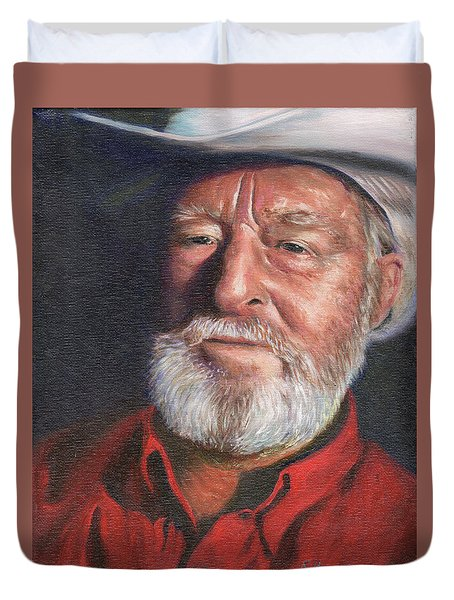 Old Ranger Duvet Cover