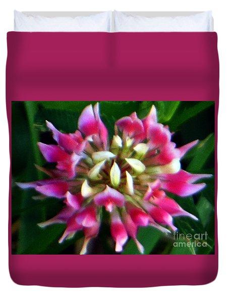 Old Rose Explosive Wildflower Duvet Cover