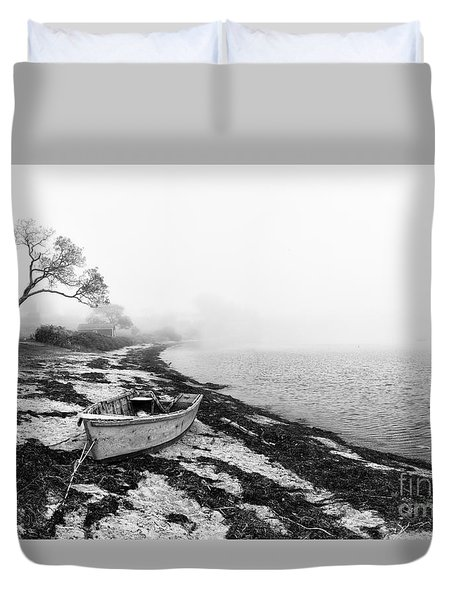 Old Rowing Boat Duvet Cover
