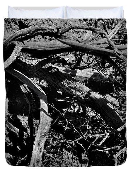 Old Sagebrush Duvet Cover